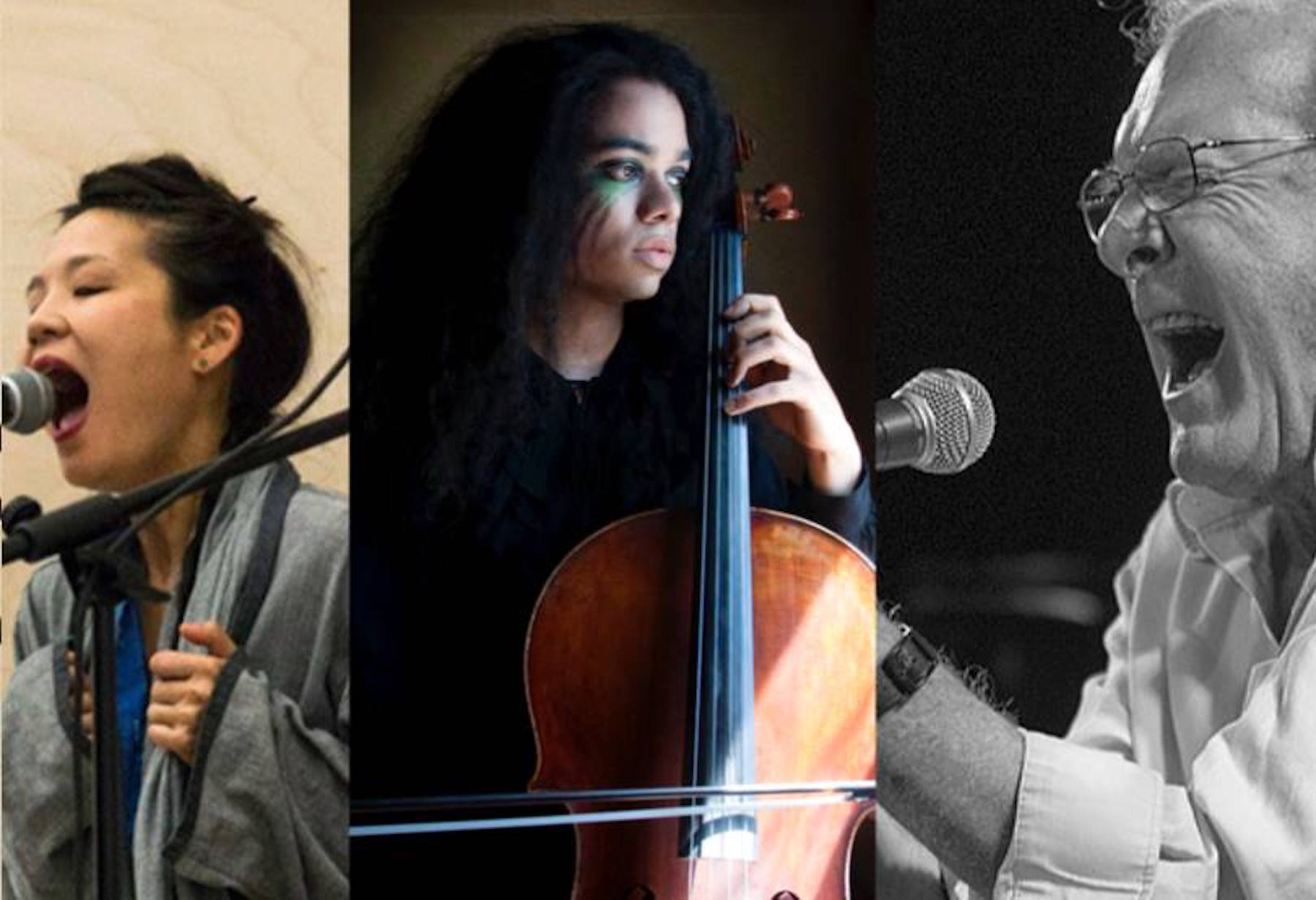 Audrey Chen / Phil Minton - BOWERBIRD ::: MUSIC, DANCE
